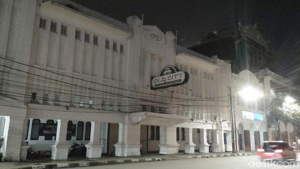 Diskotek Old City yang terletak di kawasan Tambora, Jakarta Barat masih belum beroperasi
