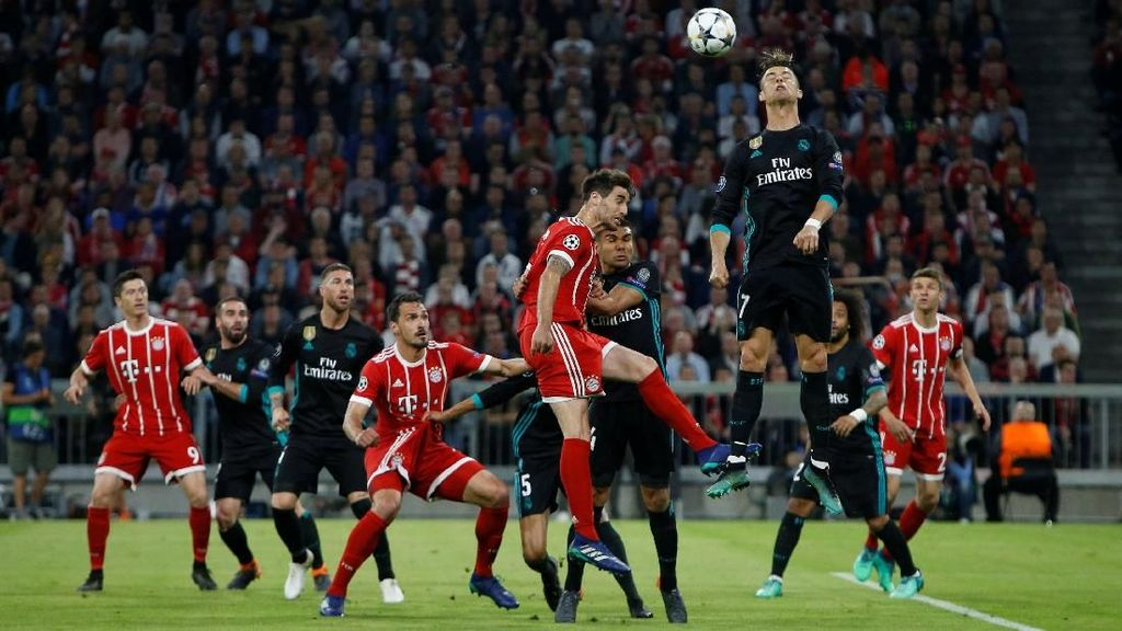 Real Madrid Menderita di Munich