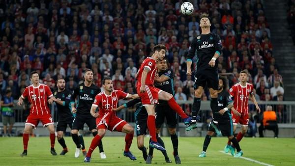 Real Madrid Menderita di Munich