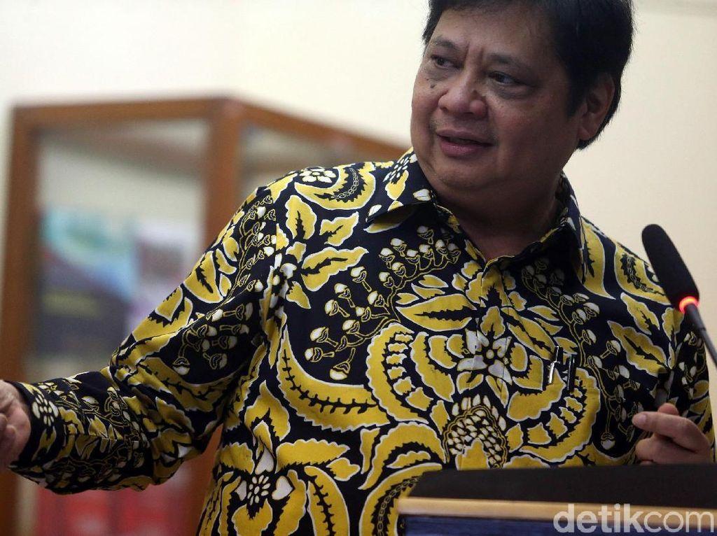 Airlangga Ambil Cuti dari Menperin Saat Ikut Kampanye Jokowi