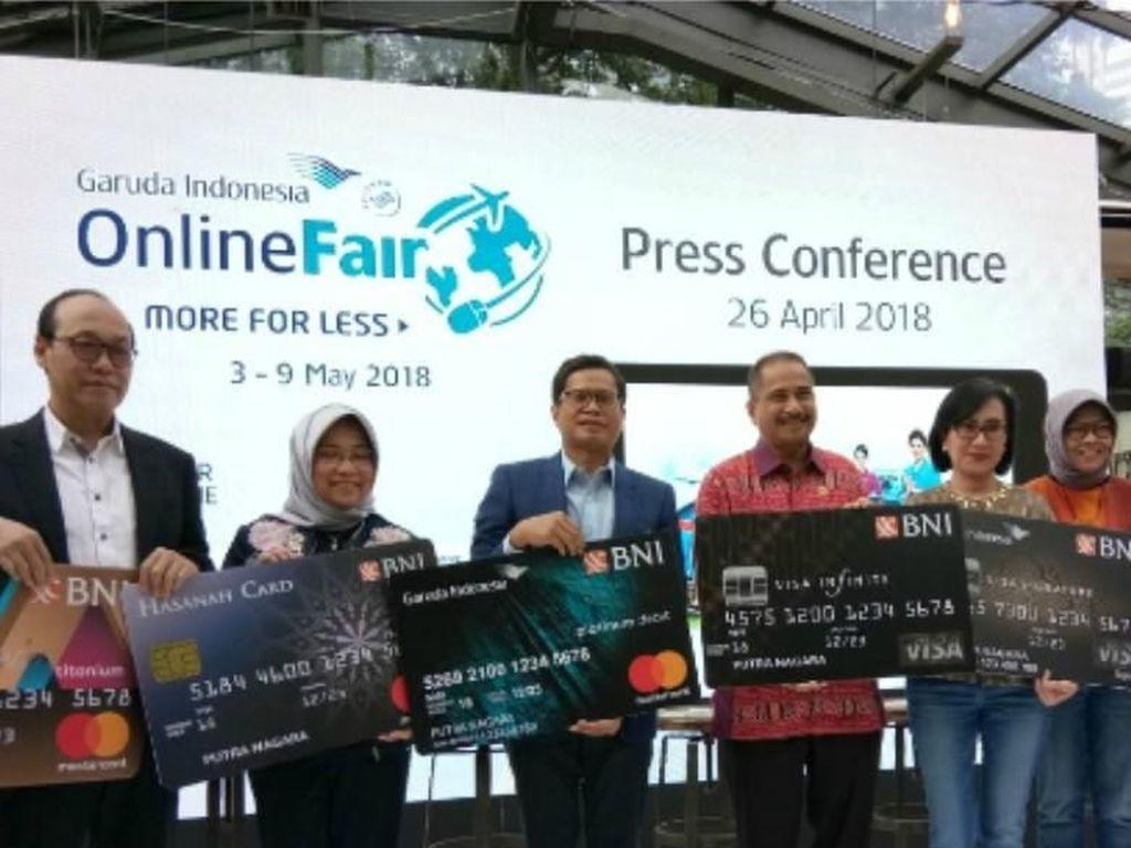 Garuda Indonesia dan BNI Kembali Gelar GOTF 2018
