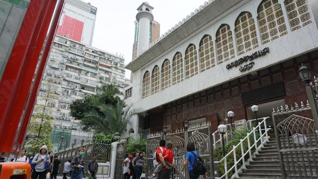 Foto: Assalamualaikum Masjid Tertua di Hong Kong