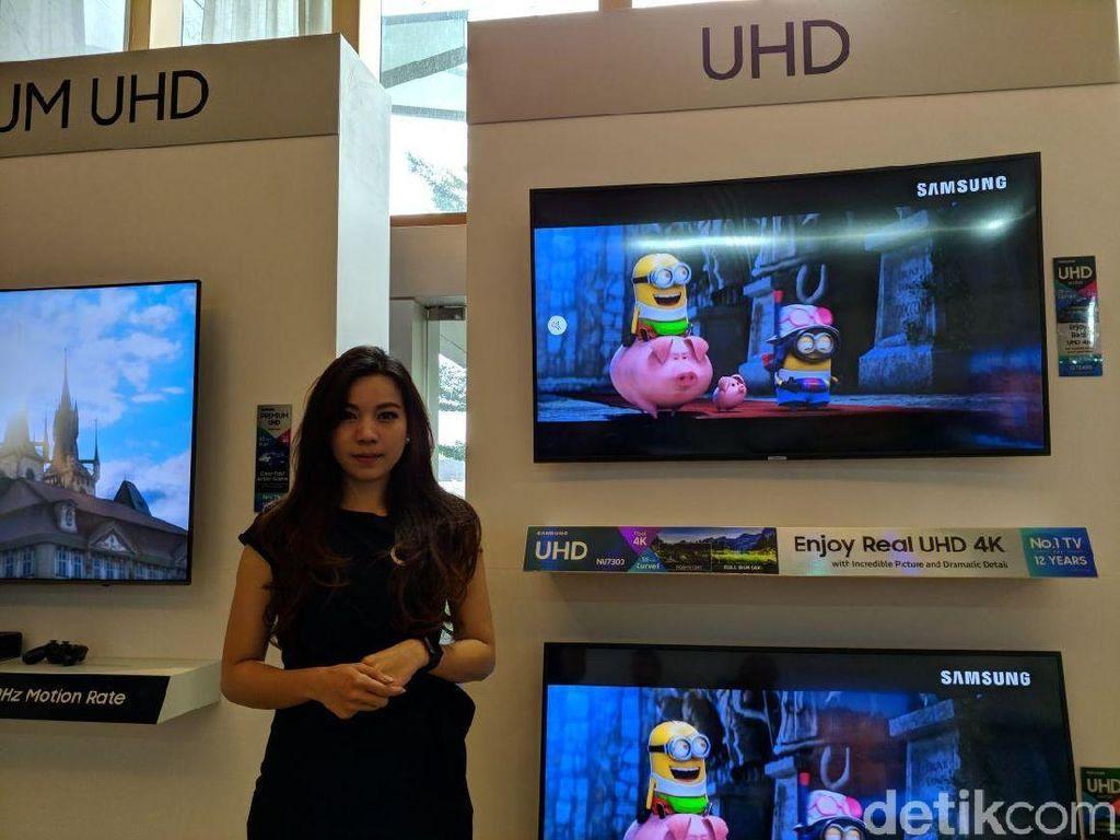 TV QLED dan Kulkas Pintar Samsung Unjuk Gigi