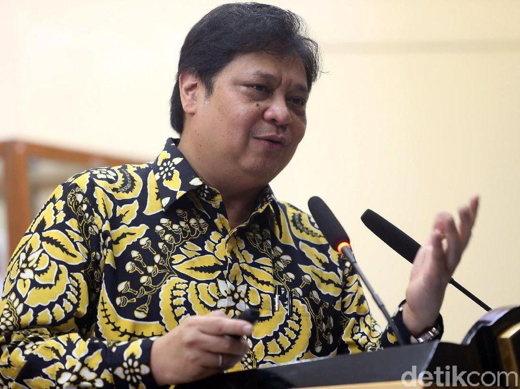 Ekspor Nikel Meroket Jelang Disetop, Ini Respons Airlangga