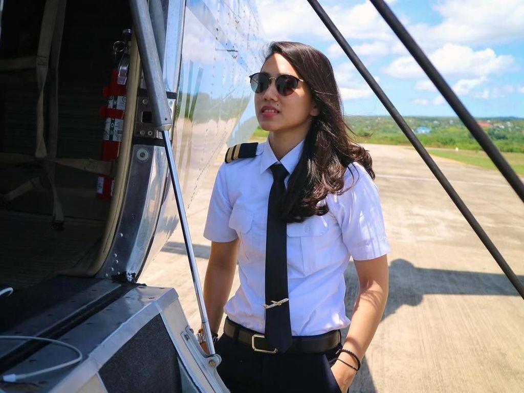 Mobil Terbakar, Pilot Cantik Athira Farina Kecelakaan, Kenapa?