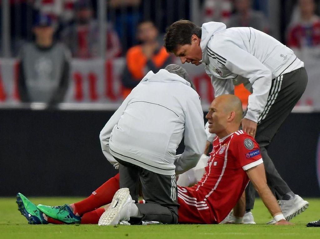 Tandang ke Bernabeu, Bayern Tanpa Robben