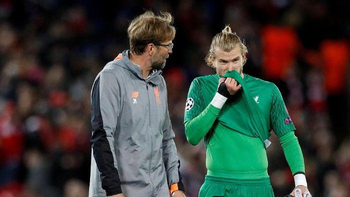 Loris Karius menyebut Juergen Klopp sempat menahannya pergi dari Liverpool. (Foto: Phil Noble/Reuters)