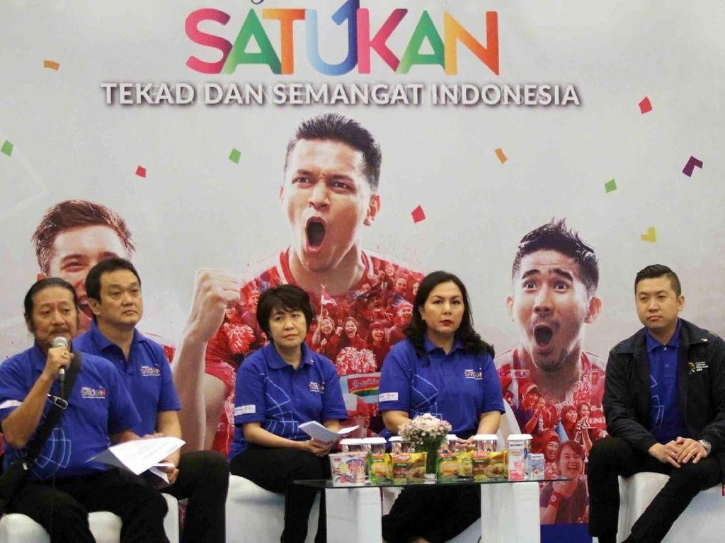 Dukungan untuk Asian Games 2018