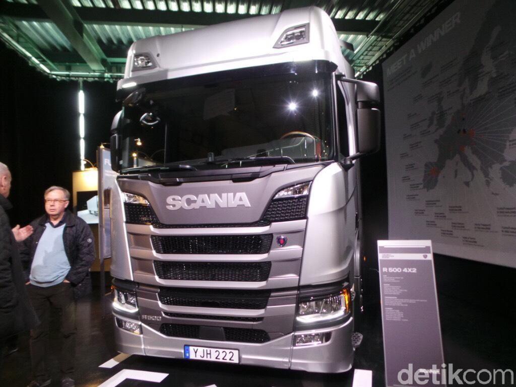 Truk Scania untuk Indonesia