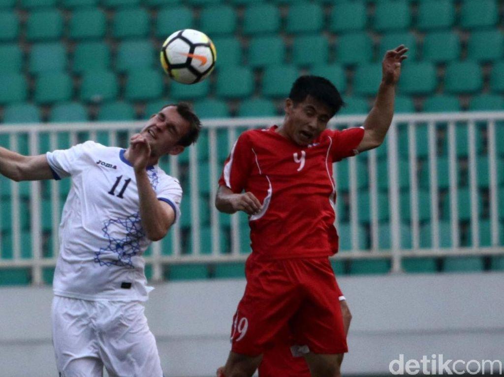 Uzbekistan Berimbang 2-2 Kontra Korut