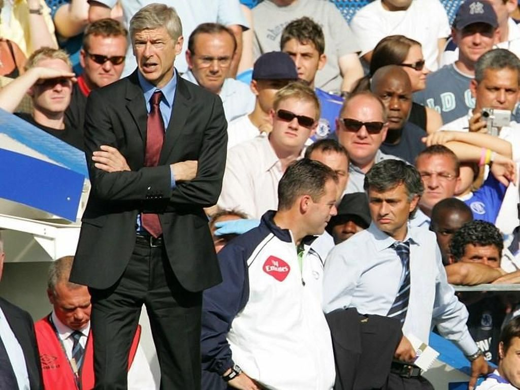 Mourinho vs Wenger dalam Rekaman Lensa