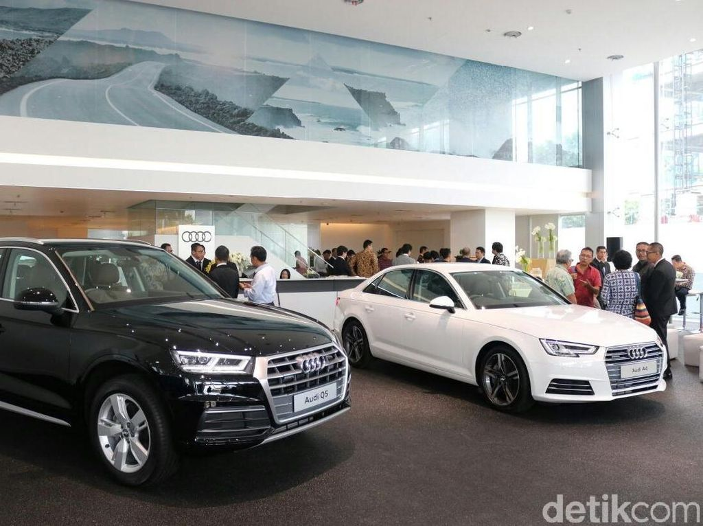Diler Keren Audi Berdiri di Jakarta