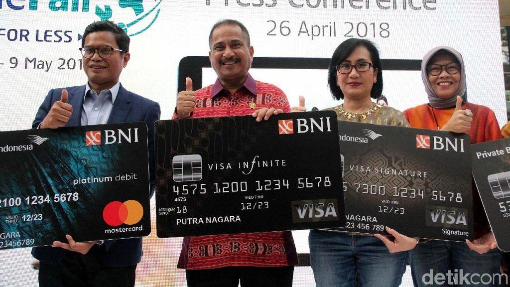 BNI dan Garuda Indonesia Gelar GOTF 2018
