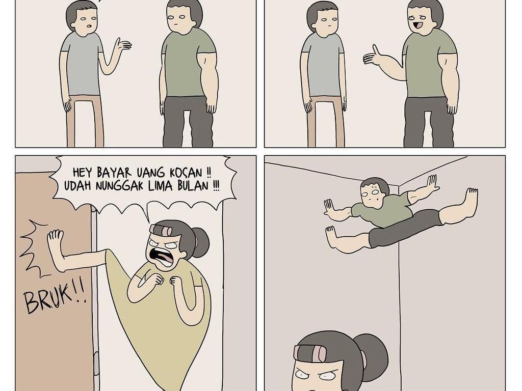 Meme Nyeleneh Tentang Cara Instan Dapat Perut Sixpack Tanpa ke Gym
