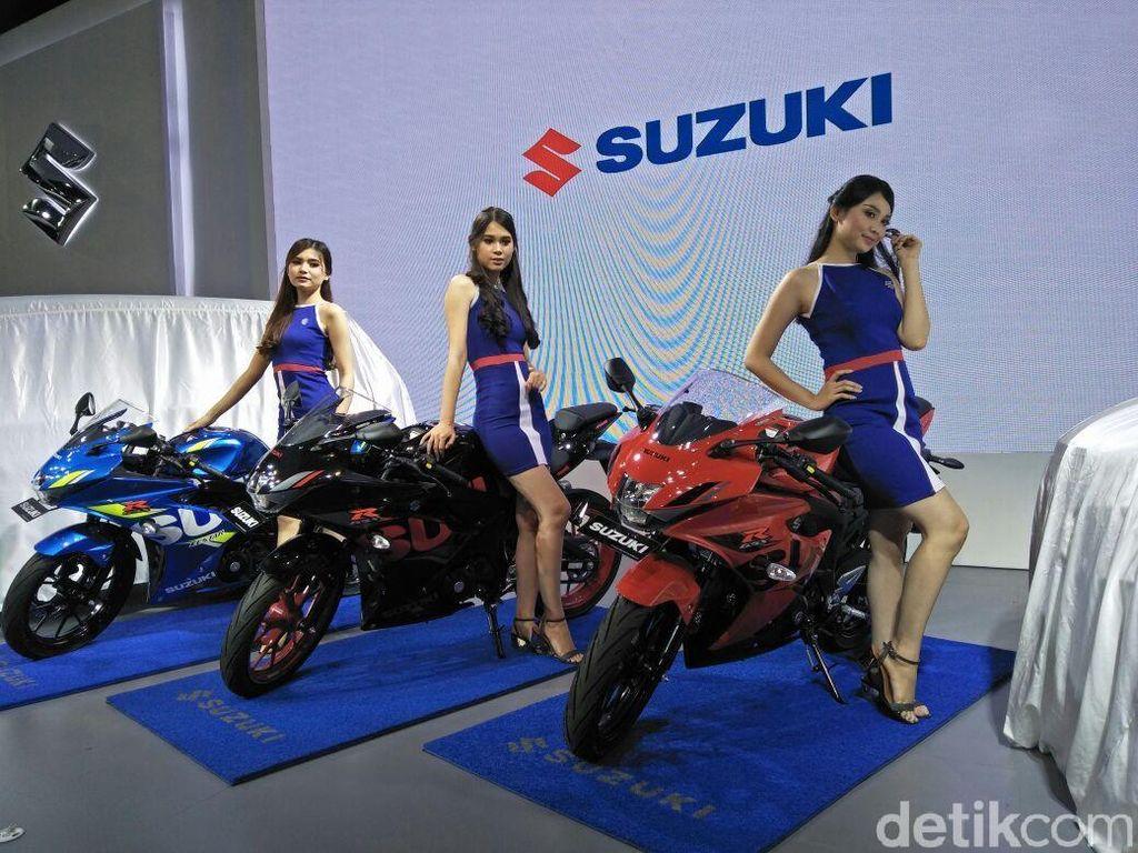 Suzuki GSX-R Berseragam Baru dan Keyless, Naik Harga Cuma Rp 1 Juta