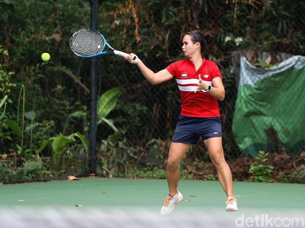 Srikandi Tenis Indonesia Mandi Keringat Menuju Asian Games