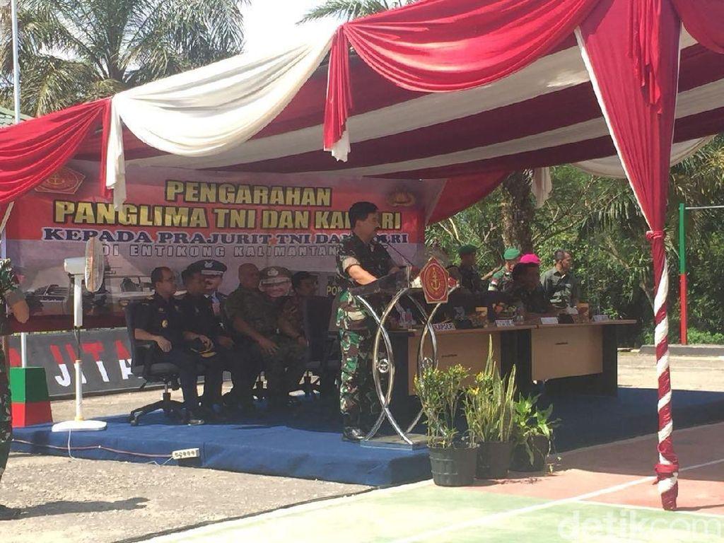 TNI akan Fokus Awasi Jalan Tikus di Perbatasan