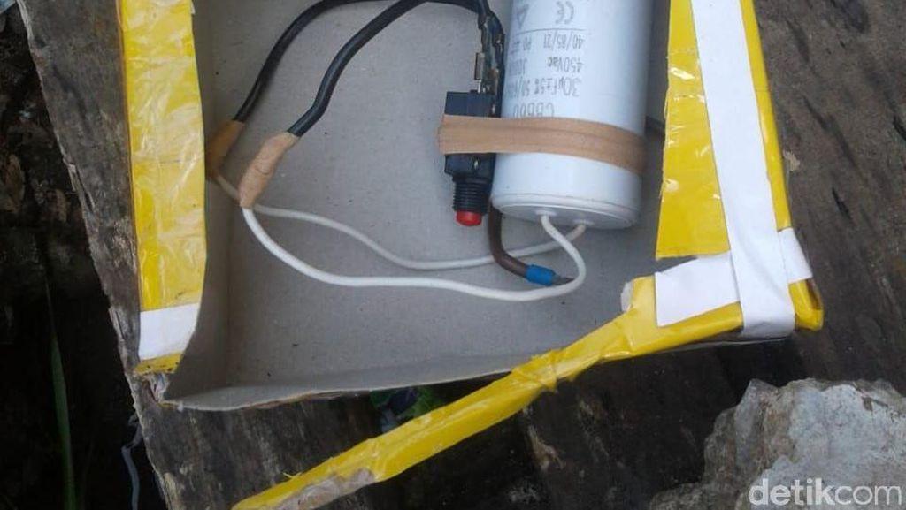 Foto: Paket Diduga Bom Gegerkan Warga Makassar
