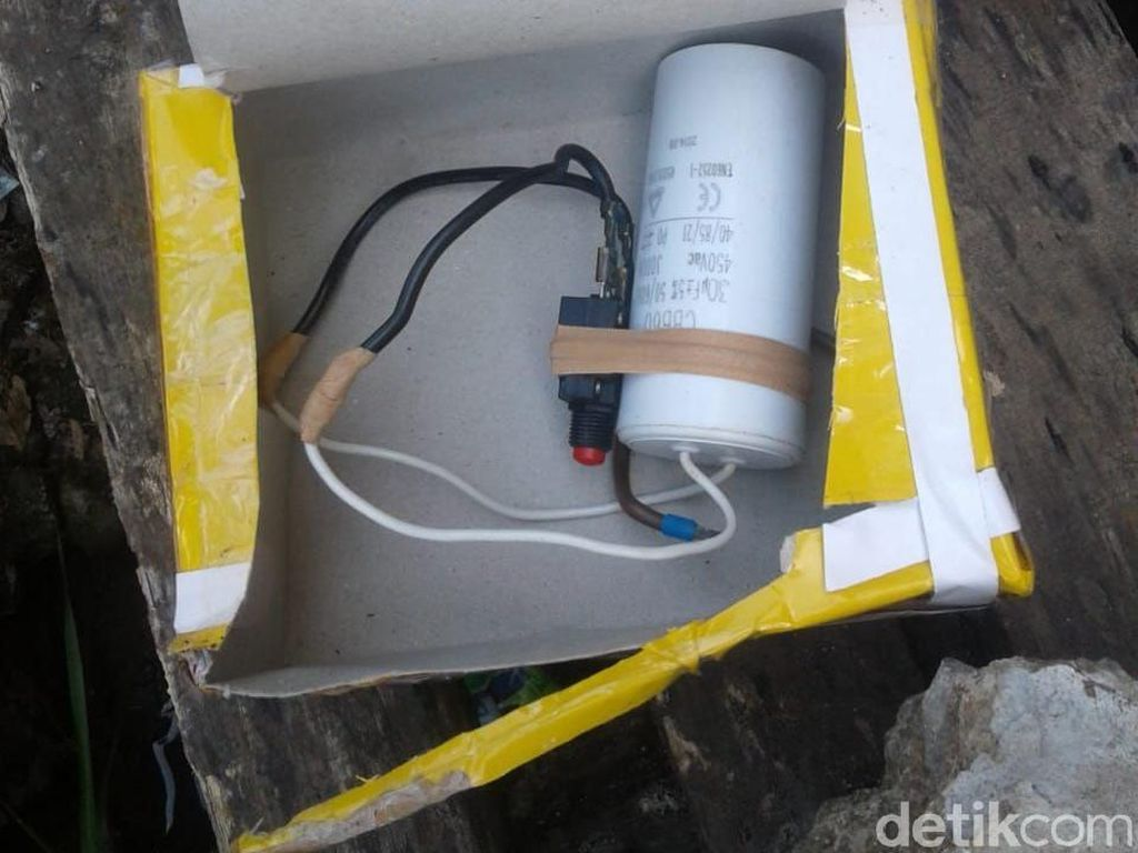 Paket Diduga Bom Gegerkan Warga Makassar