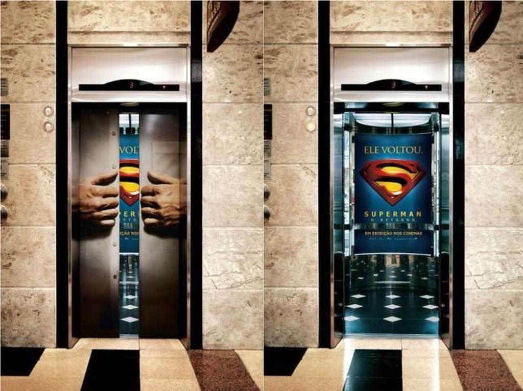 Kumpulan Iklan Kreatif di Lift
