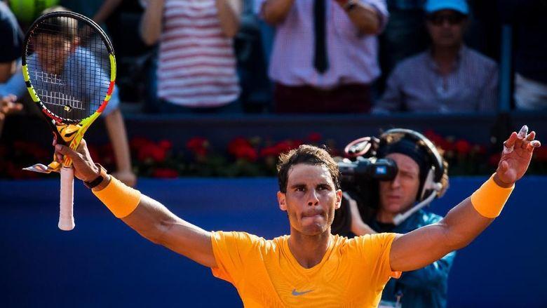 Nadal Melangkah Mulus ke Perempatfinal