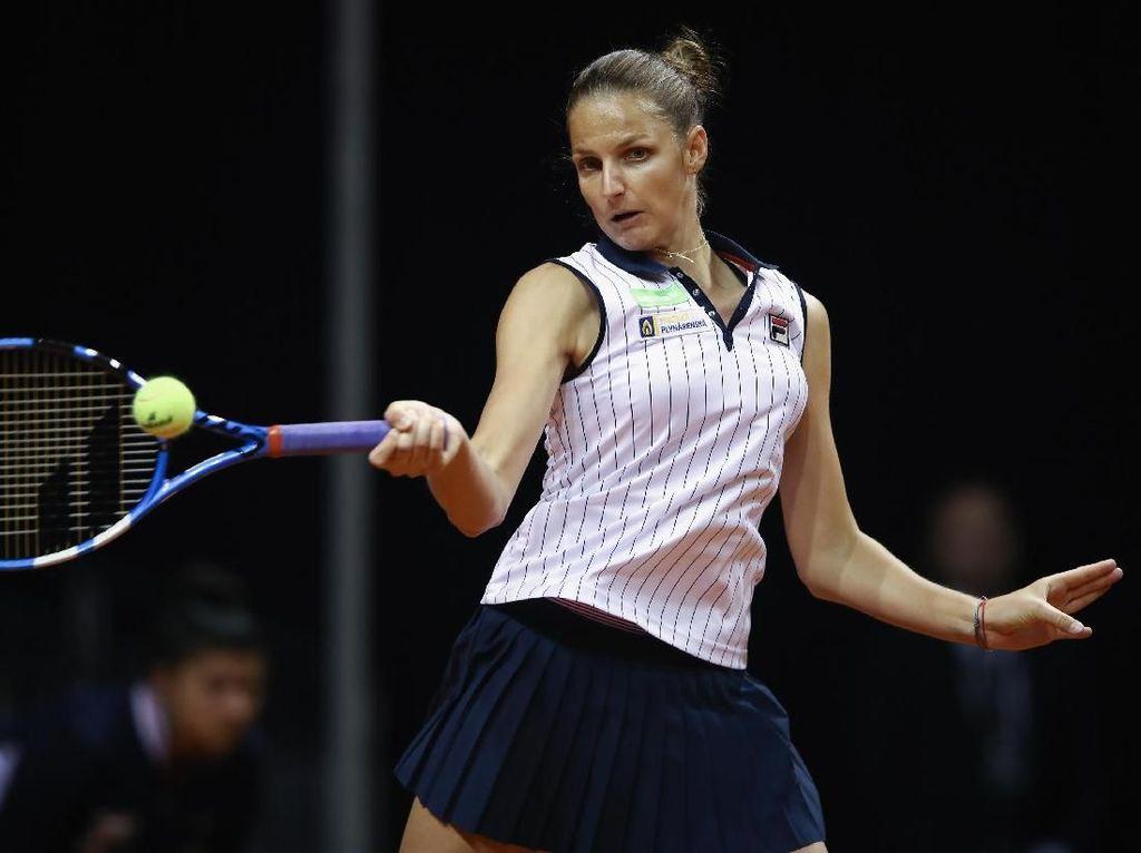 Pliskova Jumpa Ostapenko di Perempatfinal