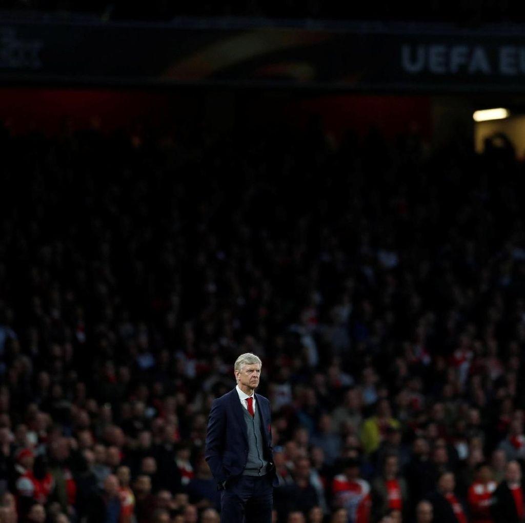 Laga Kandang Terakhir Wenger di Kompetisi Eropa Berakhir Antiklimaks