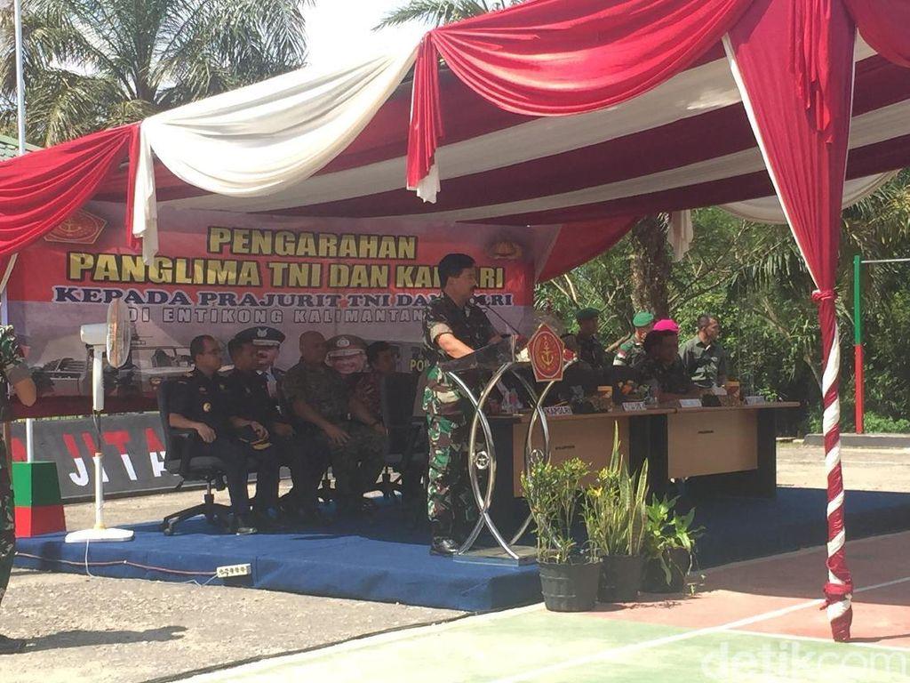 Panglima TNI Ingin Program Tentara di Perbatasan Diperluas