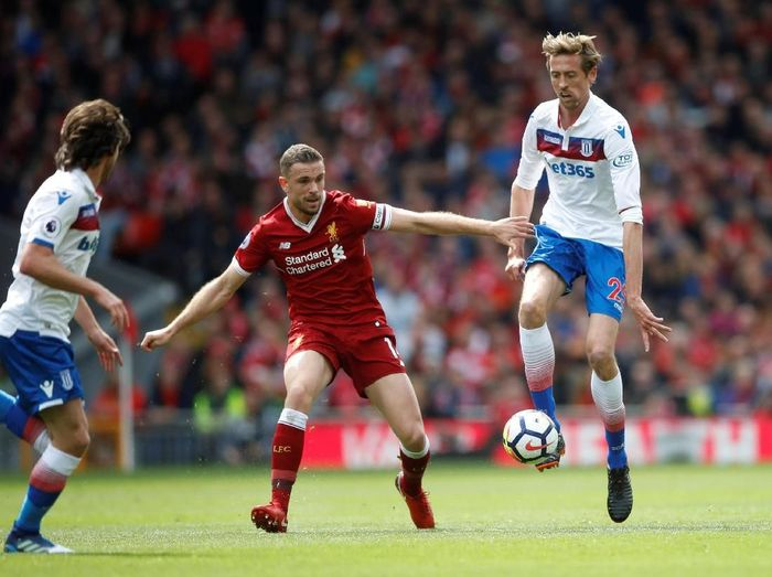 Pemain Liverpool, Jordan Henderson. (Foto: Carl Recine/Action Images via Reuters)