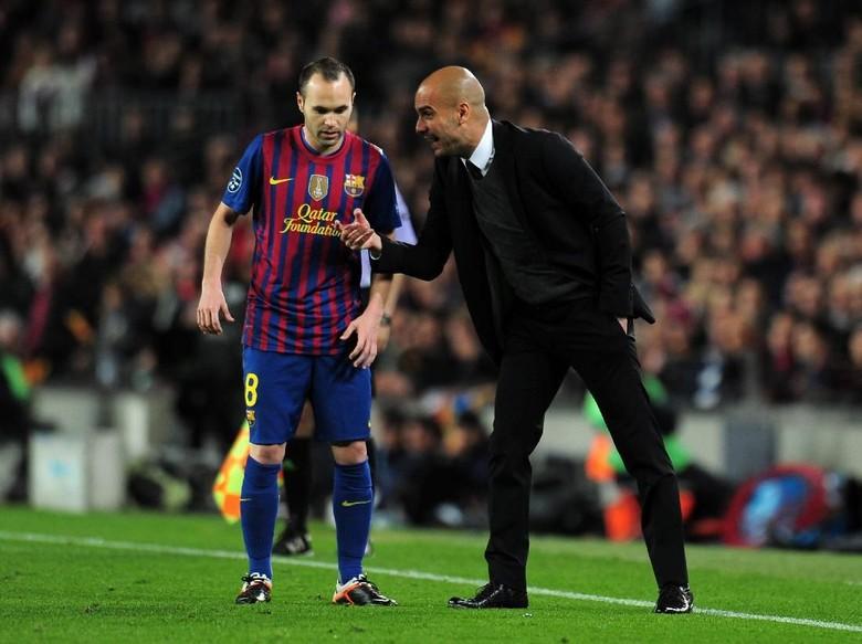 Guardiola: Terima Kasih, Iniesta!