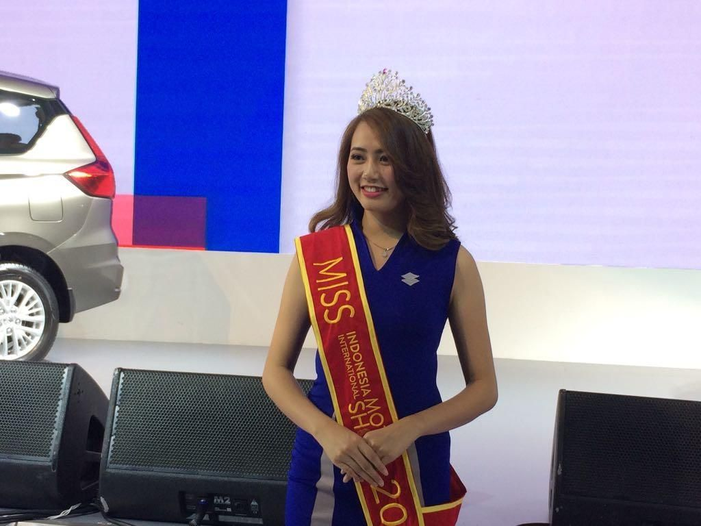 Gadis Cantik dari Suzuki Jadi Miss Motor Show IIMS 2018
