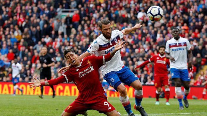 Liverpool cuma main imbang tanpa gol kontra Stoke City (Phil Noble/Reuters)