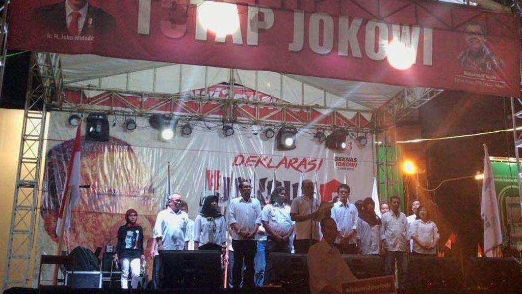 Generasi Millenial Lampung Dukung Jokowi