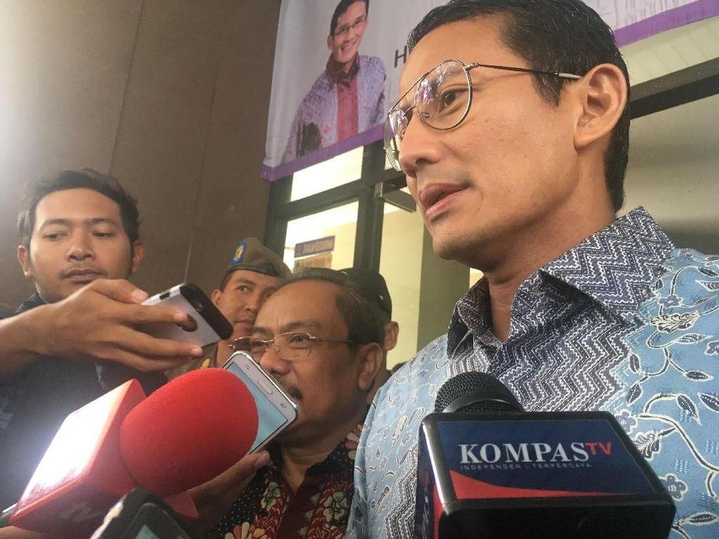 Jelang May Day, Sandi Imbau Buruh Luar DKI Tidak ke Jakarta