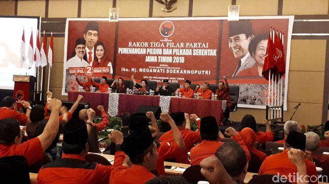 Megawati Ingin Mesin PDIP Menangkan Gus Ipul-Puti di Pilgub Jatim