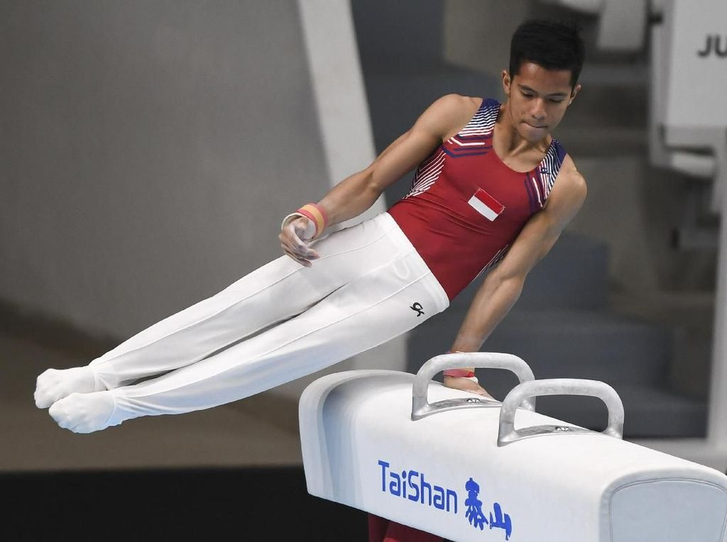 Tim Senam Indonesia Gagal Lolos ke Olimpiade Remaja 2018