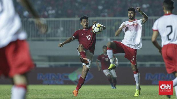 Timnas Indonesia tidak berhasil mencetak gol dalam dua laga PSSI Anniversary Cup 2018.