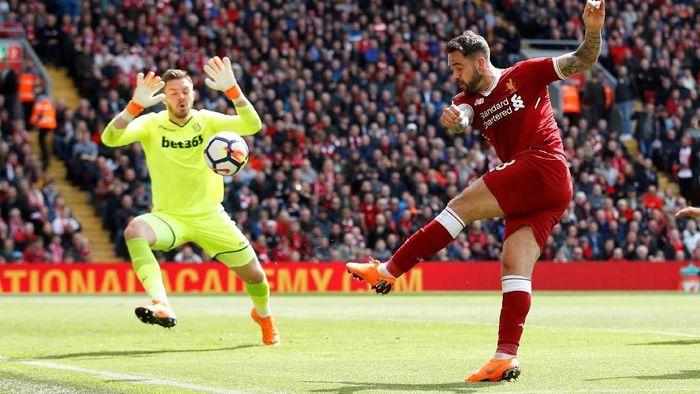 Danny Ings dilepas Liverpool ke Southampton dengan mendapatkan dana sebanyak 22,2 juta euro. Studi menunjukkan nilai Ings seharusnya cuma 7,4 juta euro. Soton membayar 14,8 juta euro lebih mahal dari nilai aslinya. (Foto: Carl Recine/Action Images via Reuters)