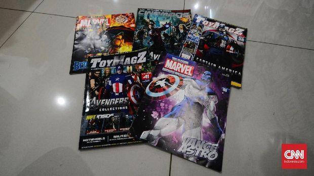 Komunitas Marvel Indonesia berawal dari hanya lima orang pencinta Marvel.