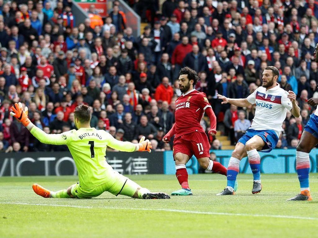 Turun Minum, Liverpool Diimbangi Stoke Tanpa Gol