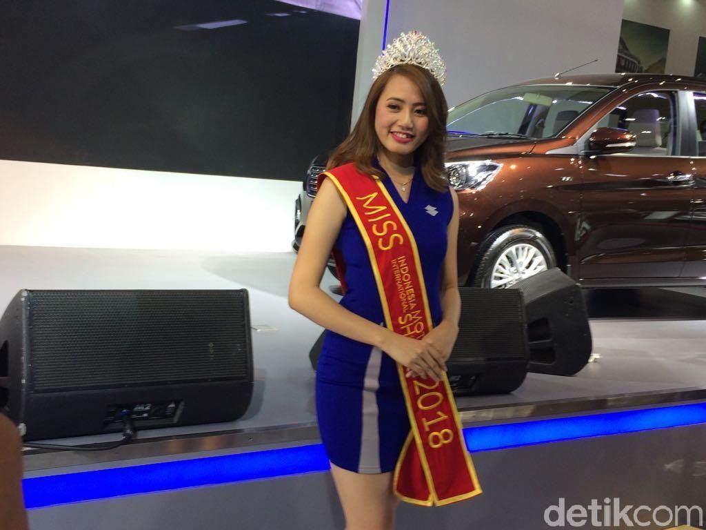 Novita Sari, Gadis Cantik Miss Motor Show 2018