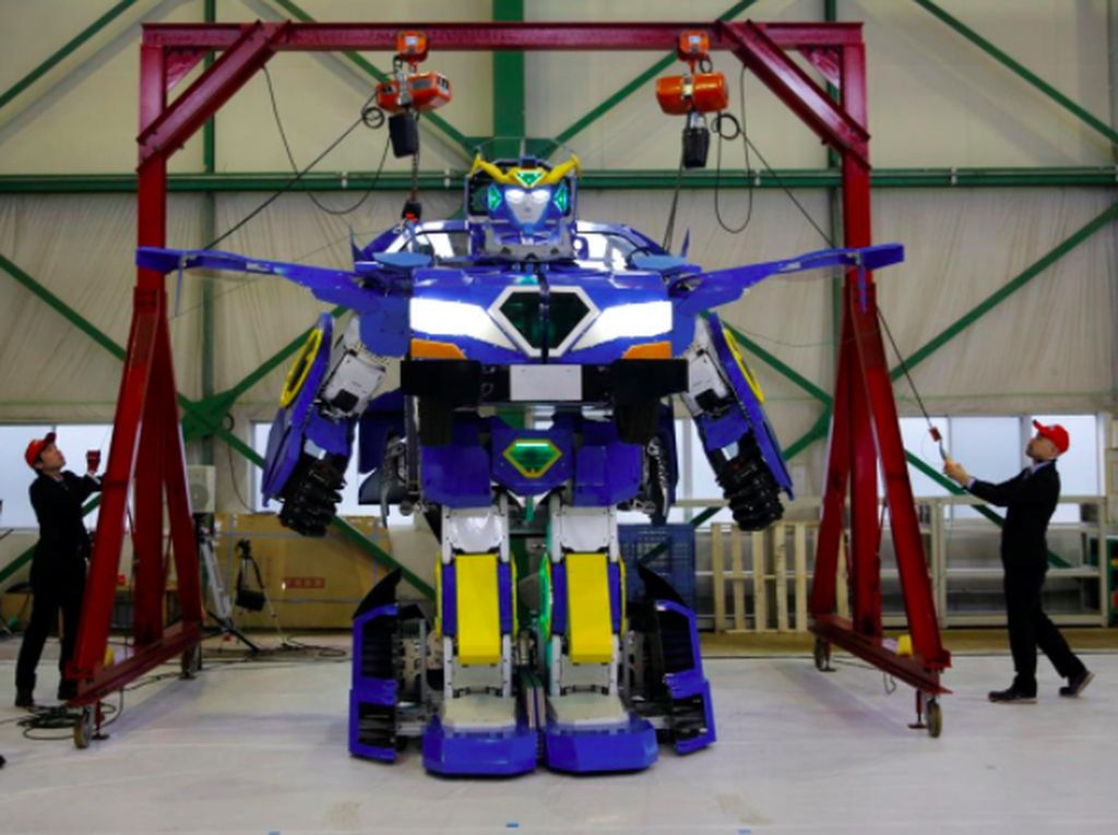 Robot Transformers Jepang yang Tak Kalah Keren dari Bumblebee