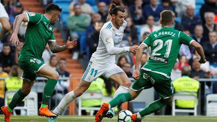 Real Madrid menang 2-1 atas Leganes dalam lanjutan Liga Spanyol (Foto: Javier Barbancho/Reuters)