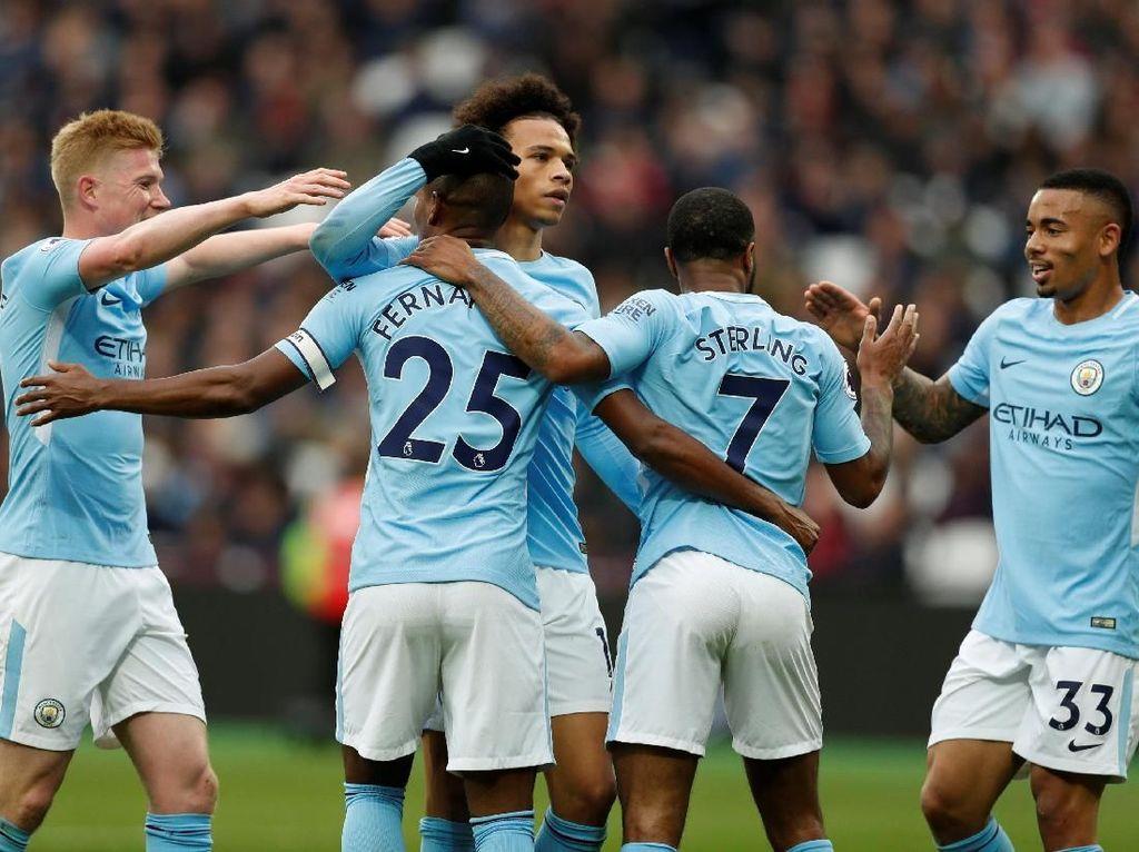 Daftar Rekor yang Dipecahkan Manchester City di Liga Musim Ini