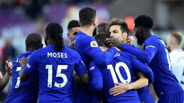 Chelsea Menang Tipis 1-0 Atas Swansea City