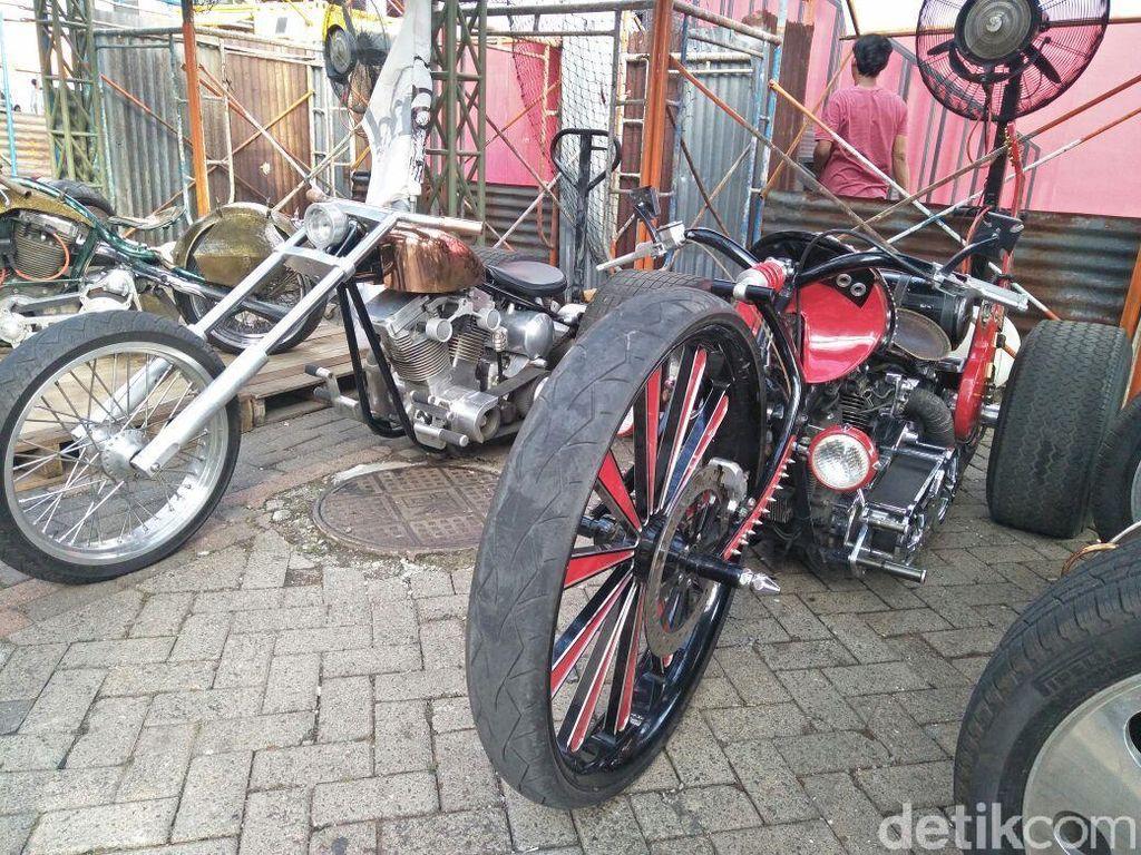 Motor ala Mad Max Ini Sering Diajak Touring Jauh