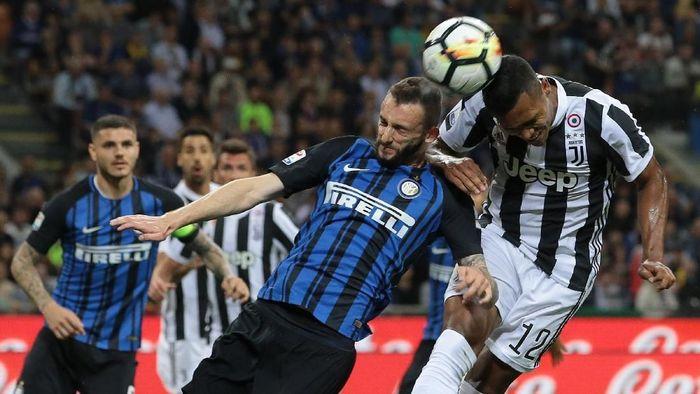 Juventus vs Inter Milan musim lalu. (Foto: Emilio Andreoli/Getty Images)