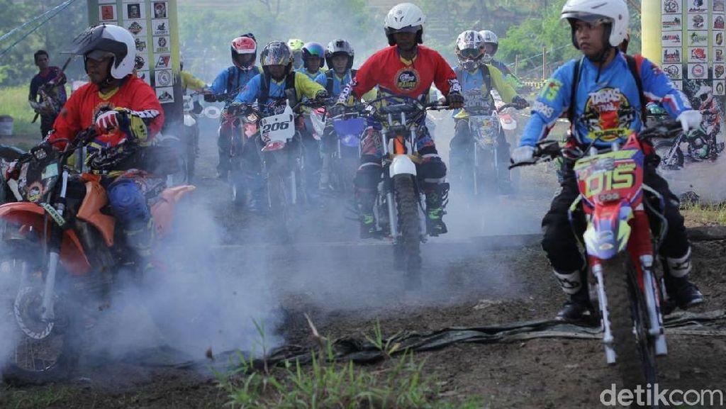Munggahan, Ribuan Rider Trail Jajal Trek Cikao Purwakarta