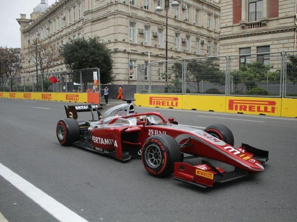 Beda Nasib De Vries dan Sean di Sprint Race Azerbaijan