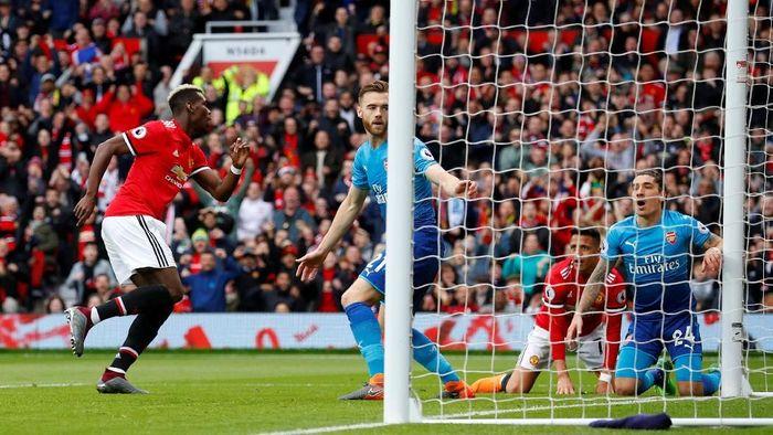 Arsenal berpeluang akhiri rekor buruk di kandang Manchester United (Phil Noble/REUTERS)